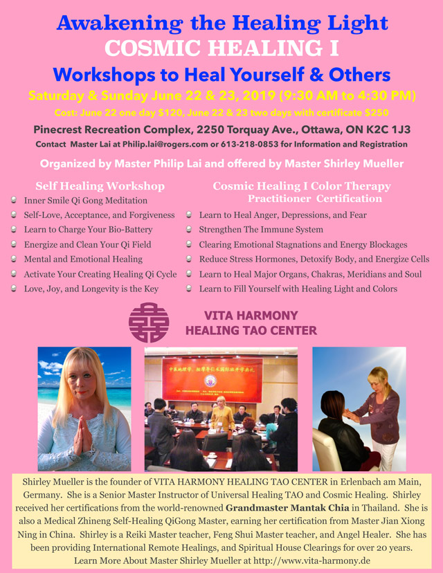 Workshops to Heal Yourself & Others