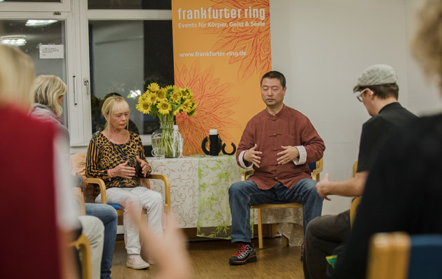 Workshop mit Master Ning